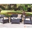 Набор садовой мебели Corfu 2+3