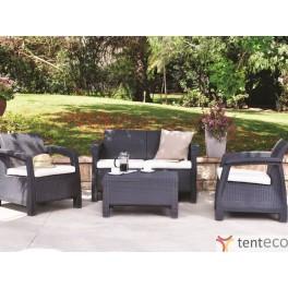Садовая мебель Corfu 2+3